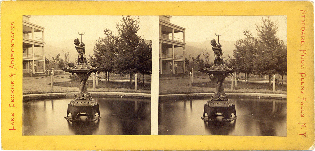 The Fountain, Fort William Henry Hotel, Lake George