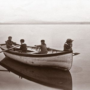 Reproduction Print: The Mariners, Upper Saranac Lake