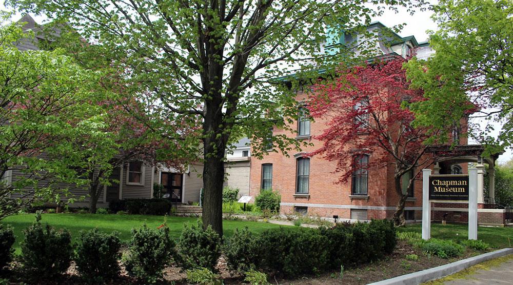 Exterior of Chapman Museum