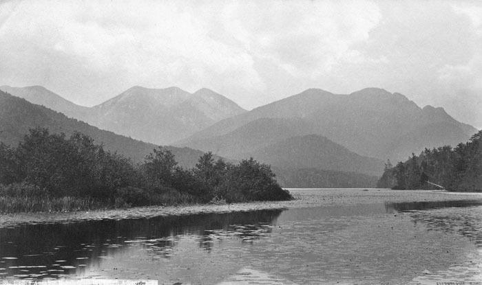 mountaains across a lake